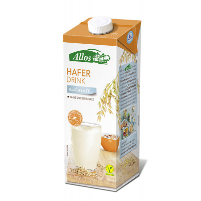 Allos Hafer Drink naturell, 1l