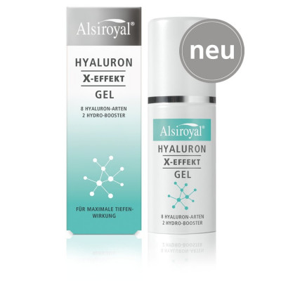 Alsiroyal® HYALURON X-EFFEKT Gel, 30 ml Spender