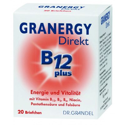 Dr. Grandel Granergy Direkt B12 plus 20 Briefchen