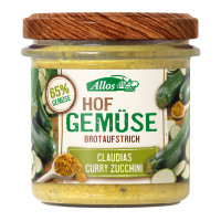 Hofgemüse Claudias Curry Zucchini Allos