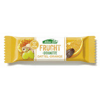 Allos Fruchtschnitte Dattel-Orange 30 g Packung