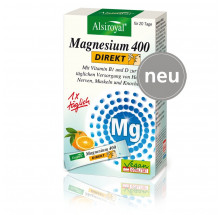 Alsiroyal® Magnesium 400 DIREKT  20 Sticks 42 g Packung