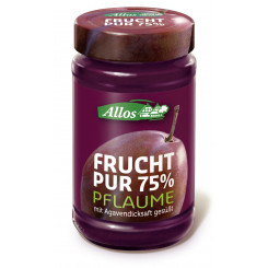 Pflaume Frucht Pur 75%