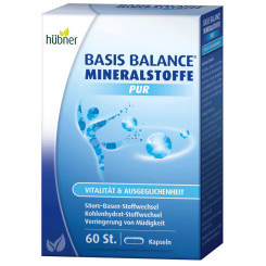 Hübner Basis Balance Mineralstoffe Pur 60 St. 73 g Packung