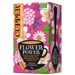 Cupper Flower Power, Filterbeutel Bio 35 g Packung