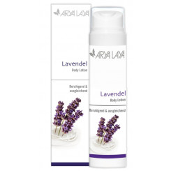 ARYA LAYA Body Lotion Lavendel, 200 ml Spender